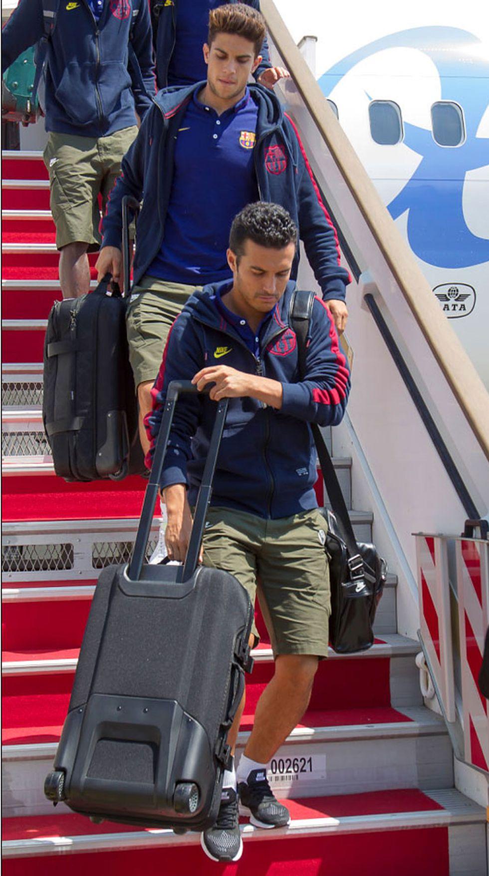 Pedro está en Londres para negociar con el Chelsea