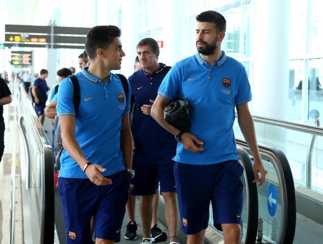 El Barcelona ya está en Bilbao