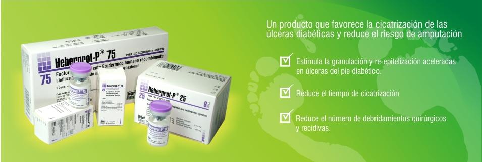 Suman más de 43 mil los pacientes atendidos con Heberprot-P