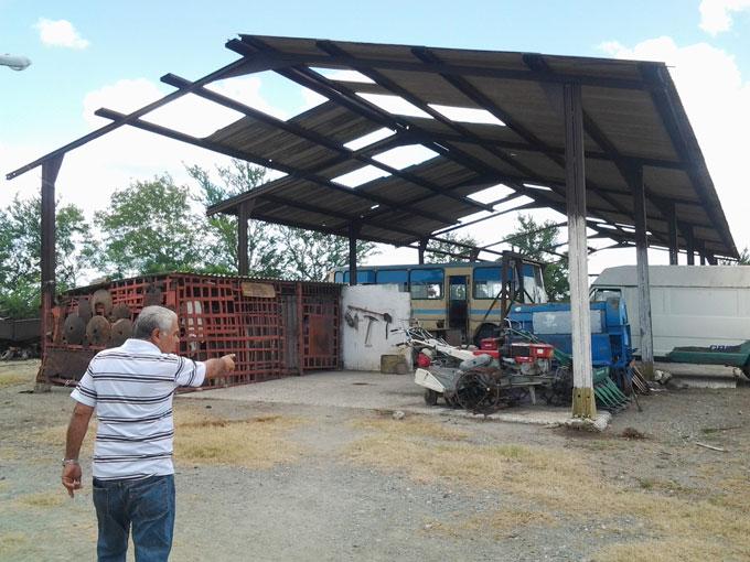 Equipamientos vietnamitas y medios de transporte vulnerables al deterioro / FOTO Anaisis Hidalgo