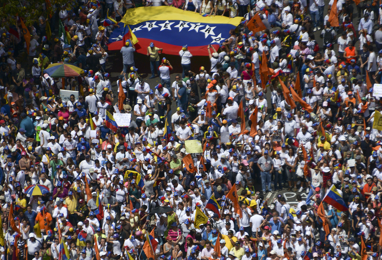 Caraqueños marcharán en respaldo al Gobierno de Venezuela