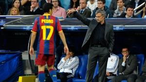 Mourinho y Pedro
