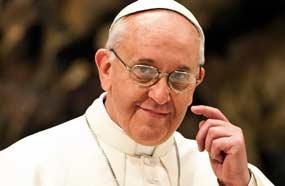 Papa sin planes para diálogo con FARC durante visita a Cuba