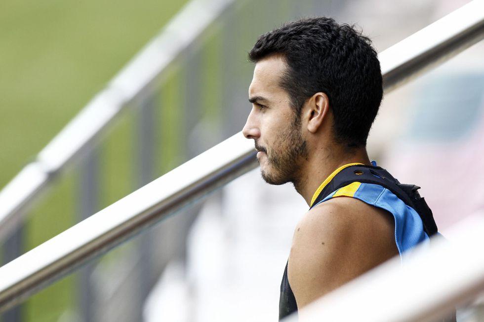 El United ya está en Barcelona para cerrar el fichaje de Pedro