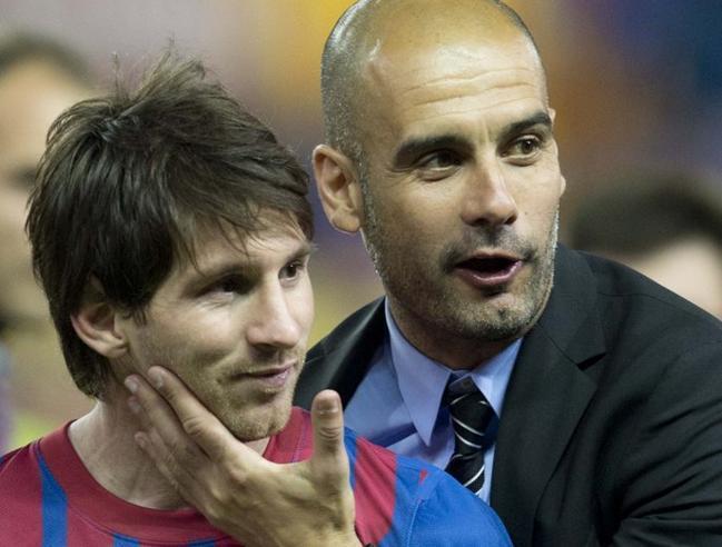 """Guardiola: """"Solo hay un jugador que no tiene que hacer lo que digo: Messi"""""""