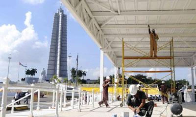 Avanzan preparativos para la visita papal a Cuba