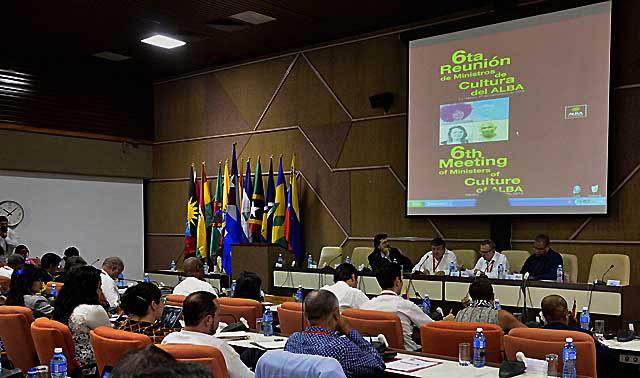 CUBA-LA HABANA-SESIONA VI REUNIÓN DE MUNISTROS DE CULTURA DEL ALBA-TCP