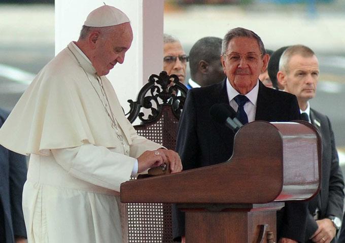 Papa: La Iglesia Católica seguirá acompañando al pueblo de Cuba