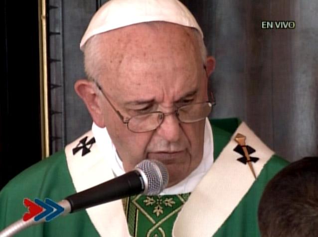 Ángelus del Papa Francisco en la Plaza de la Revolución