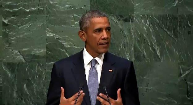 Barack Obama, ONU
