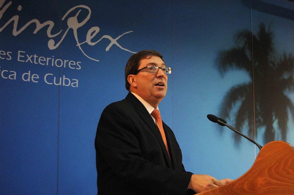 Bruno Rodríguez: Bloqueo a Cuba es una política absurda, ilegal y moralmente insostenible
