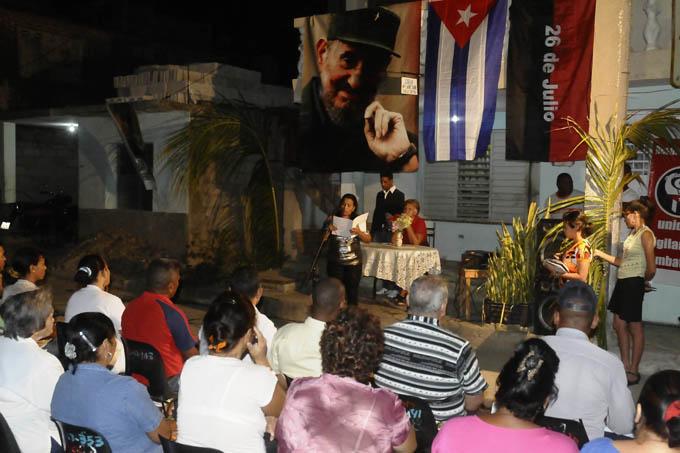 Cumplen hoy los CDR 55 años de creados por Fidel