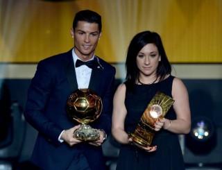 Cristiano Ronaldo y Nadine Kessler
