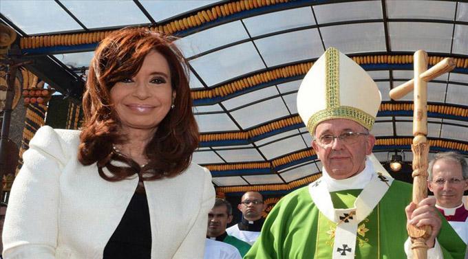 Cristina Fernández asistirá a la misa del Papa en Cuba