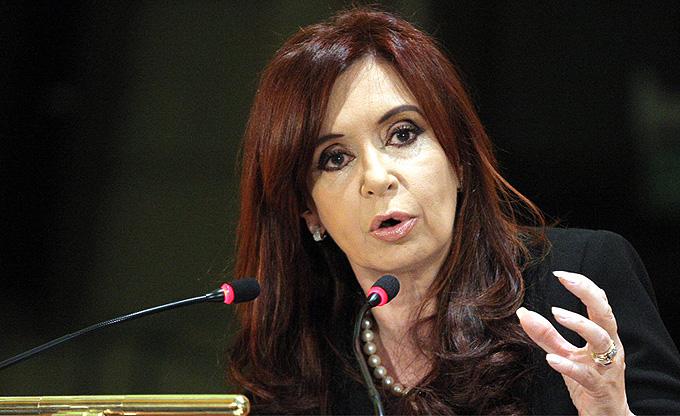 Cristina Fernández pide apoyo para que Argentina ingrese al BRICS