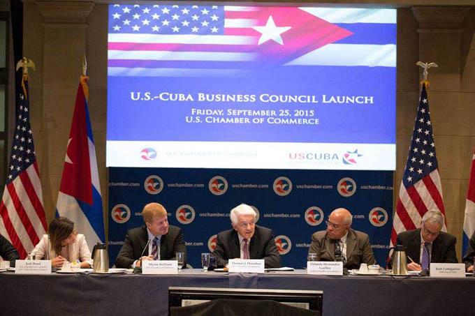 ESTADOS UNIDOS-WASHINGTON-CONSTITUYEN CONSEJO DE NEGOCIOS EE.UU.-CUBA