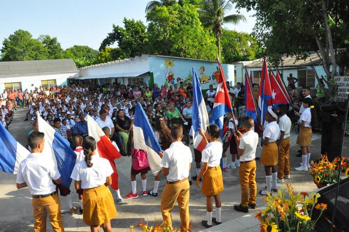 Centros educativos de Granma reabren sus puertas este curso escolar con una nueva imagen