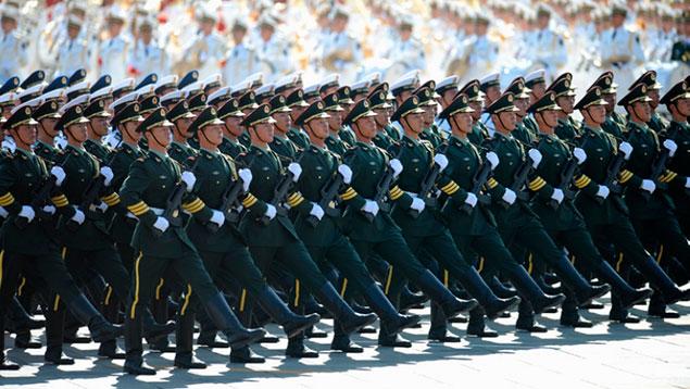 Preparan grandioso desfile en China con 12.000 militares