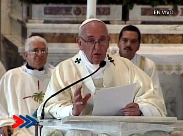 El Papa en la Homilía del Cobre
