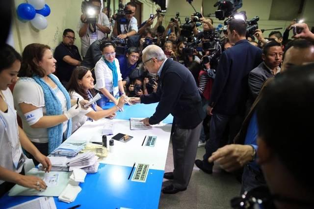 Votan cuatro millones de guatemaltecos, según datos preliminares