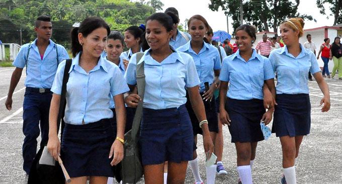 Sector educacional cubano dice NO al consumo de drogas