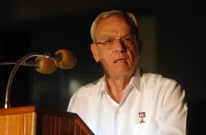 Reconocen a Eusebio Leal con la medalla 70 años de la Unesco