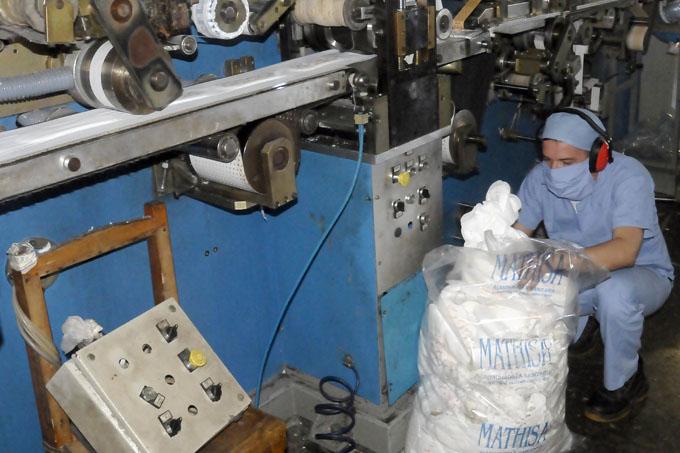 Fábrica de Almohadillas sanitarias, Granma