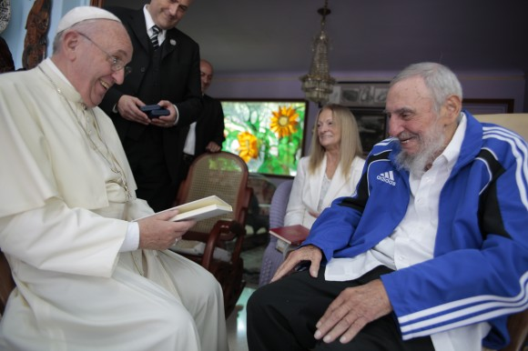 Visitó el Papa Francisco a Fidel (fotos y video)
