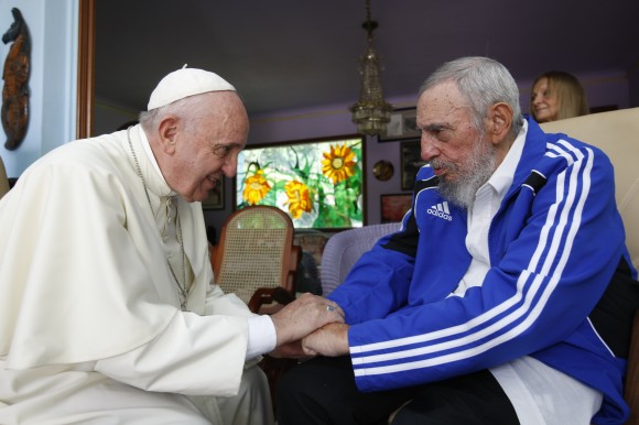 Fidel y el Papa 10
