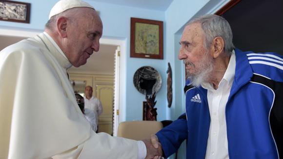 Fidel y el Papa 2