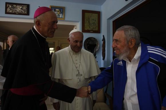 Fidel y el Papa 3