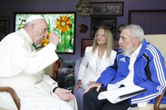 Fidel y el Papa 4