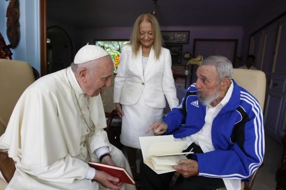 Fidel y el Papa 5