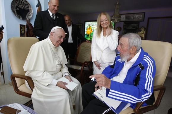 Fidel y el Papa 6