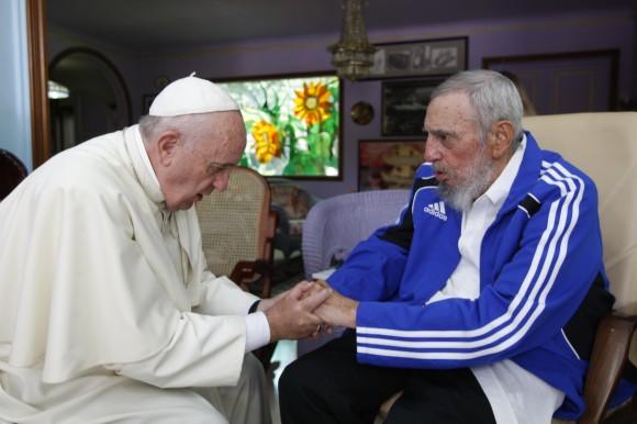 Fidel y el Papa 9