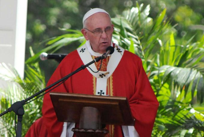 """Homilía del Papa Francisco en Holguín: """"Estén siempre atentos"""""""