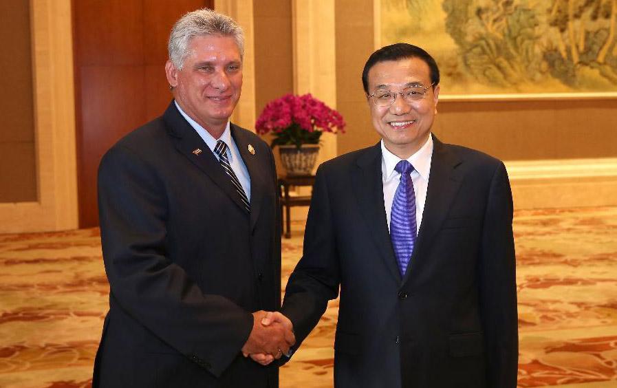 Primer ministro chino subraya amistad y cooperación con Cuba