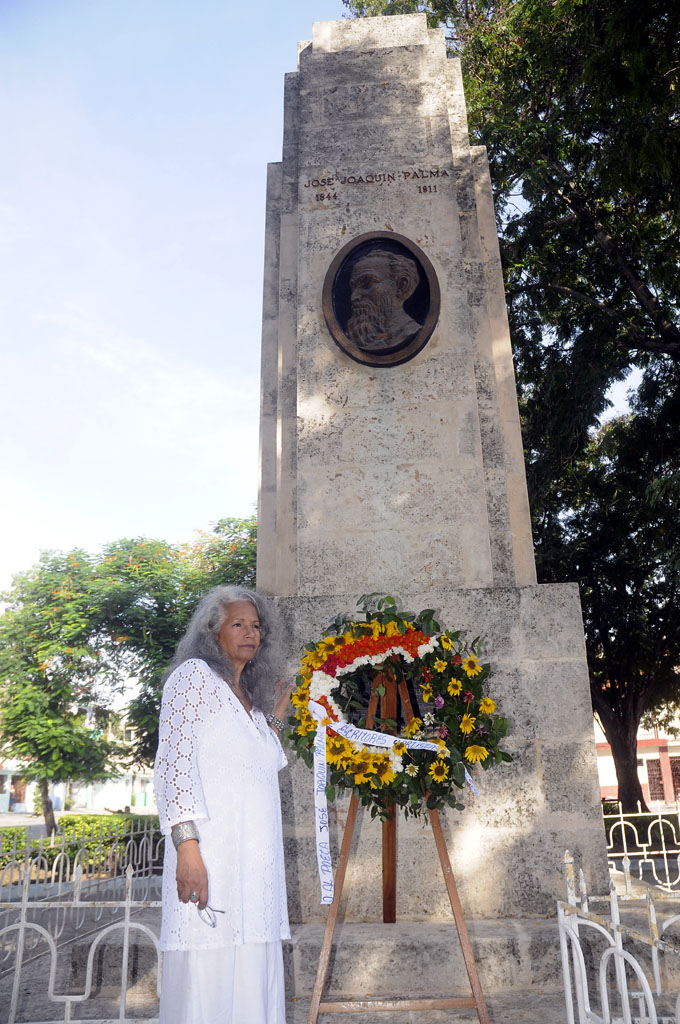 Lucia, Monumento a José Joaquín Palma