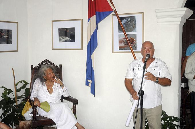 Luis Carlos Frómeta, presidente de la UNEC en Granma