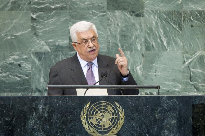 Mahmoud Abbas, presidente de Palestina