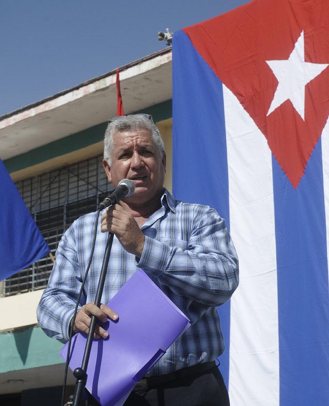 Osacar Arturo Nuevo Reyes, director del INDER en Granma