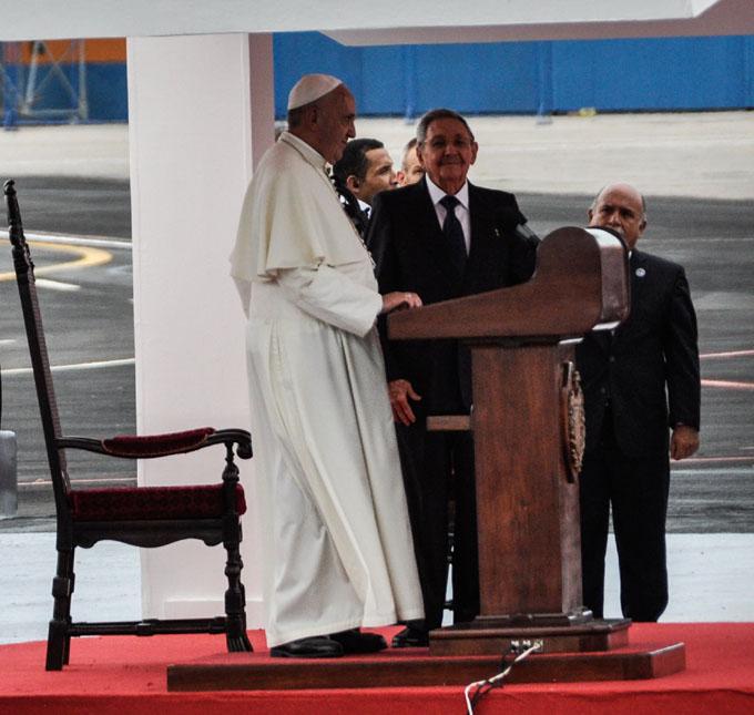 Alocución del Papa Francisco con motivo de su visita a Cuba