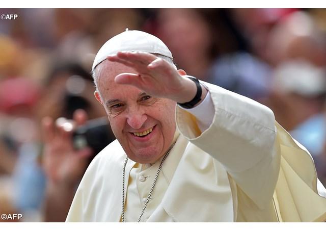 Papa Francisco, saluda al pueblo de Cuba