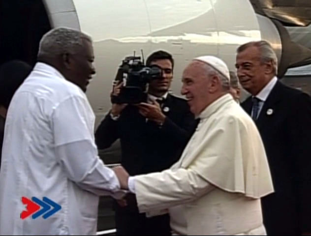 Viajó a Holguín el Papa Francisco para continuar visita a Cuba