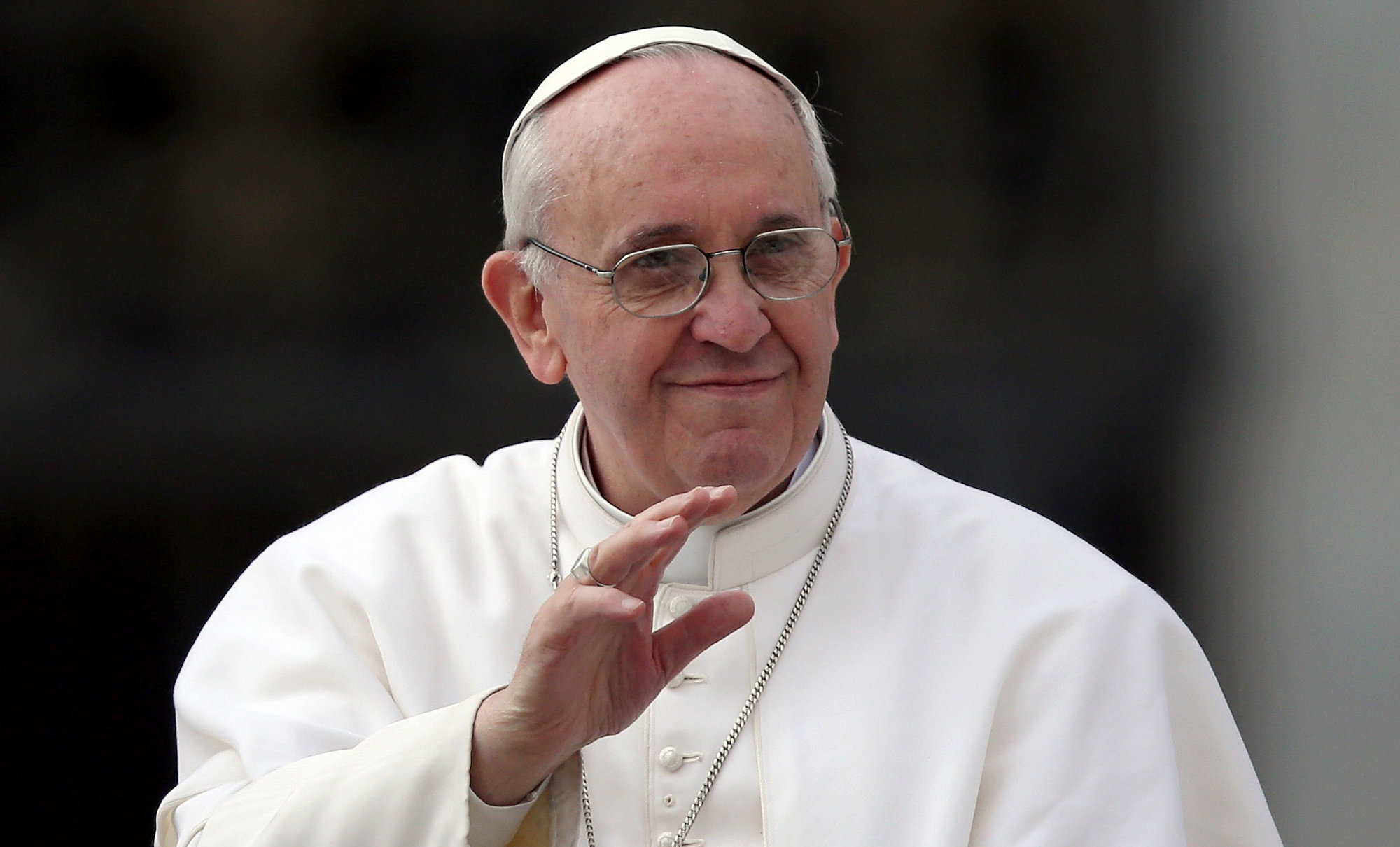 Bienvenido Papa Francisco