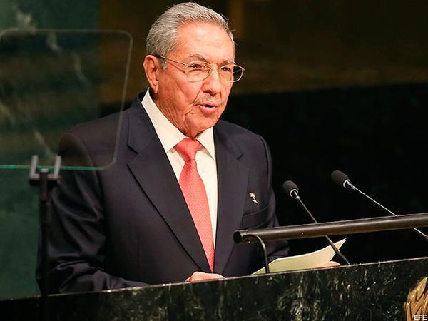 Raúl Castro Ruz, ONU