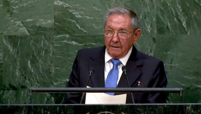 Raúl Castro Ruz, en las Naciones Unidas
