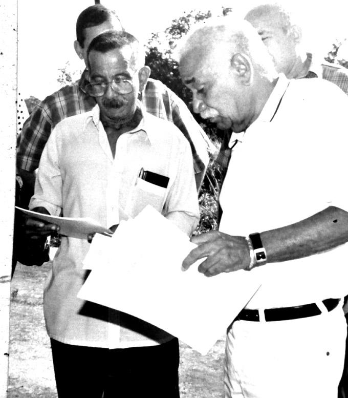 Ramón Alejandro y Juan Almeida (DER)