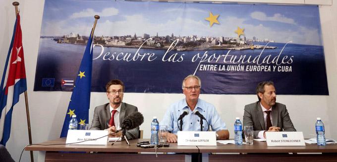 LA HABANA-INFORMAN SOBRE LA QUINTA RONDA  NEGOCIACIONES CUBA-UE