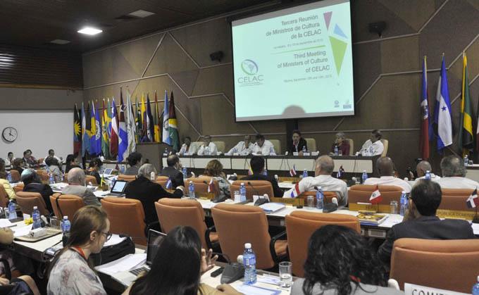 CUBA-LA HABANA-SESIONA LA III REUNIÓN DE MINISTROS DE CULTURA DE LA CELAC